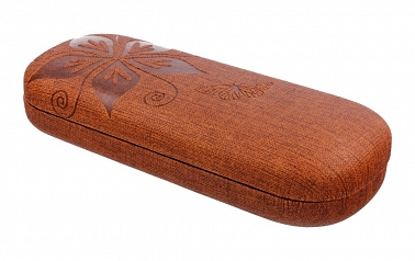 Etui na okulary NAXOS Brown